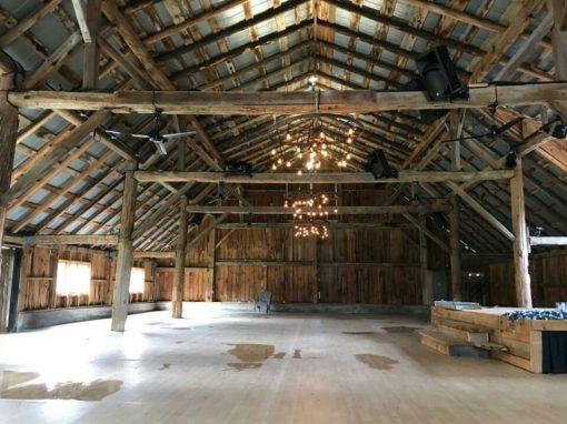 Refurbish barn with new 400 amp service