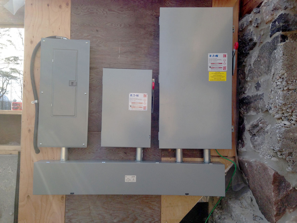 400 amp panel in Colbourn Ontario.